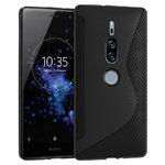 S-Line Flexi Carbon Fibre Case for Sony Xperia XZ2 Premium - Black